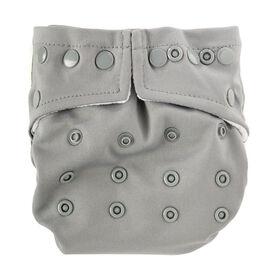Bumkins Snap in One Diaper - Gray