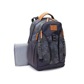 Jeep Adventurers Backpack Diaper Bag - Camo Crosshatch