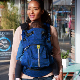 LILLEbaby Pursuit Pro Carrier - Heathered Sapphire