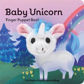 Baby Licorne: Livre de marionnettes à doigts