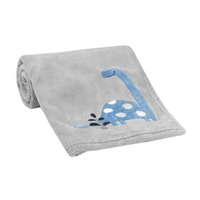 Bedtime Originals - Roar Blanket - Gray