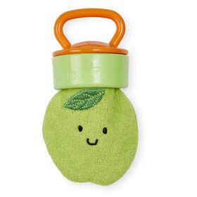 Babies R Us Terry Teether with Handle - Green Apple