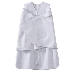 Turbulette SleepSack de HALO - Point d'épingle en argent - Coton - Nouveau-é.