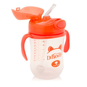 Baby's First Straw Cup, 9oz - Orange