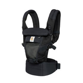 Ergobaby Lightweight and Breathable Cool Air Mesh Adapt Baby Carrier - Onyx Black