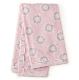 Levtex Baby Willow Medallion Blanket - Pink||Levtex Baby Willow Medallion Blanket - Pink