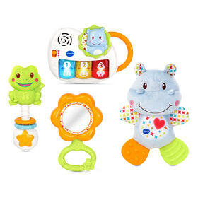 VTech Newborn Necessities Gift Set - Blue - English Edition