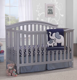 Sorelle - Berkley 4-In-1 Convertible Crib - Grey