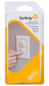 Safety 1st protecteur de prise Secure Press - paquet de 36.