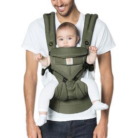 Ergobaby Omni 360 Cool Air Mesh All-in-One Ergonomic Baby Carrier - Khaki Green
