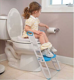 Mommy's Helper™ Contoured Cushie Step-Up™ Padded Potty Seat with Step Stool