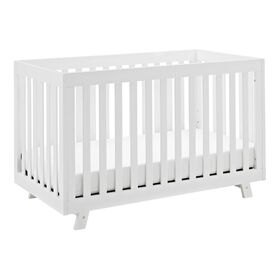 Storkcraft Beckett 3-in-1 Convertible Crib - White