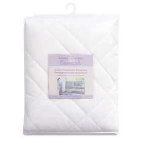 Koala Baby - Quilted Waterproof Polycotton Mattress Protector - White||Koala Baby - Quilted Waterproof Polycotton Mattress Protector - White