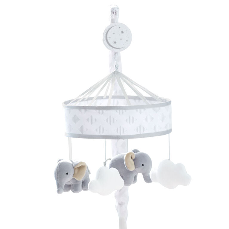 Just Born Dream Musical Mobile - Grey/White