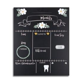The Peanutshell Milestone Monthly Keepsake Chalkboard
