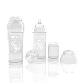 Twistshake Anti-Colic Bottle 260ML - White