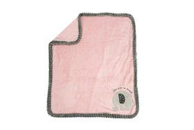Koala Baby Ribbed Blanket Pink Elephant