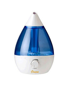 Crane Drop Shape Ultrasonic Cool Mist Humidifier - Blue