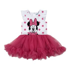 Disney Minnie Mouse Cupcake Dress - Pink, 18 Months