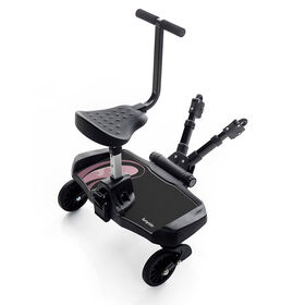 Bumprider Ride-on Board + Sit - Pink