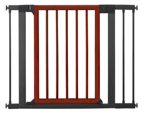 Brica Wood & Steel Designer Gate - R Exclusive
