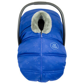 Petit Coulou  Winter car seat cover - Blue