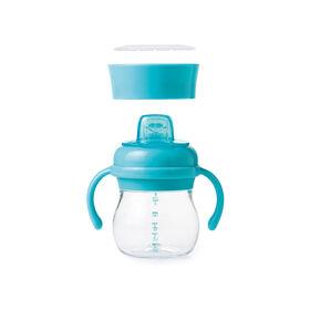 Oxo Tot Transitions Soft Spout Sippy Cup Set - Aqua