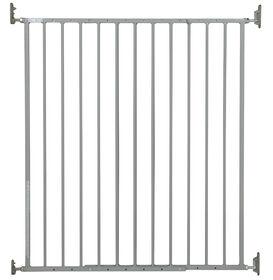 Storkcraft Easy Walk Thru Tall Metal Safety Gate - Gray