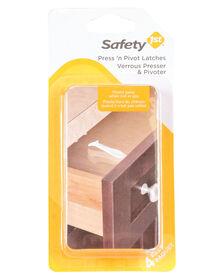 Safety 1st Press n' Pivot Latch - 4-Pack