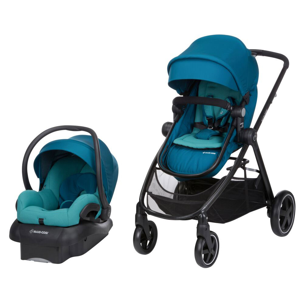 Maxi Cosi Zelia Travel System Emerald Tide R Exclusive