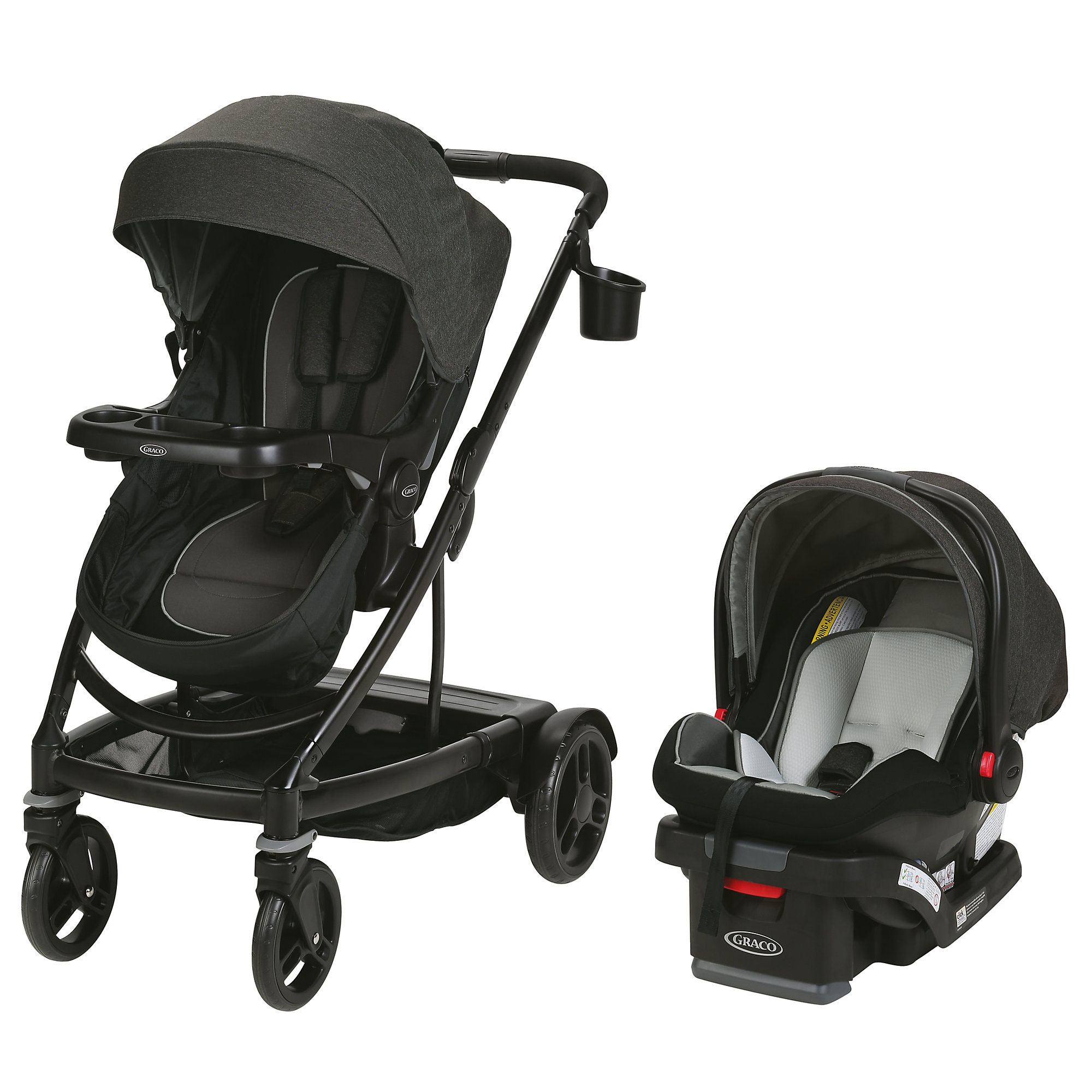 Graco Uno2duo Single To Double Travel System Ace R