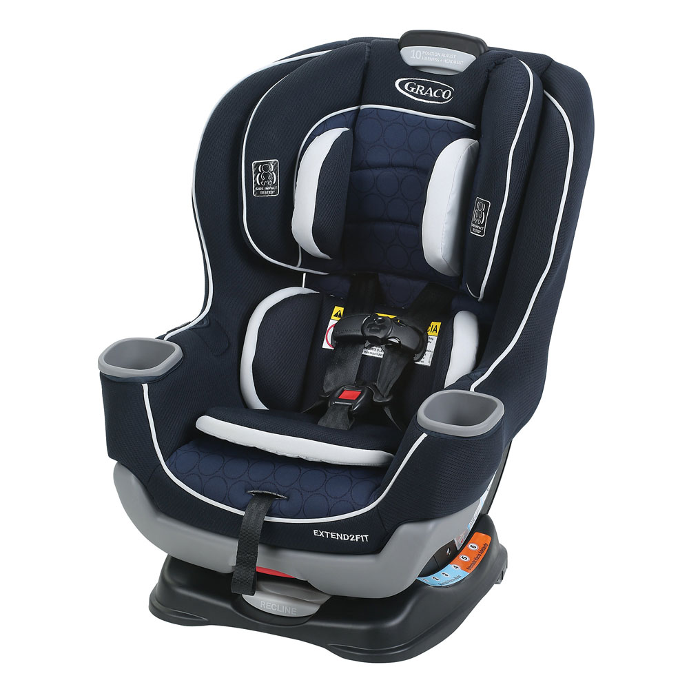 Graco Extend2fit Convertible Car Seat Campaign Babies